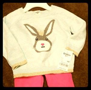 Oshkosh B'gosh 2pc Outfit - Size 9 months